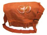 Orange zipper bag